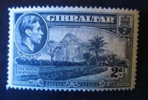 Gibraltar #110a Mint Hinged - (AZ5) WDWPhilatelic!