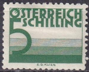 Austria #J157 F-VF Unused CV $87.50 Z627