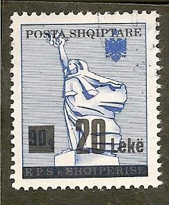 Albania    Scott 2438   Surcharge     Used