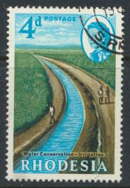 Rhodesia   SG 355  SC# 204   Used Water Conservation see details