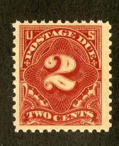 US J62b MNH F/VF SCV $9.00 BIIN $3.50 NUMERICAL DENOMINATION