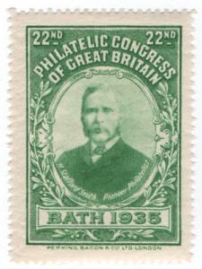 (I.B) Cinderella : 22nd Philatelic Congress (Bath 1935)