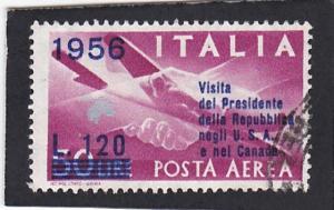 Italy  #  C - 136   used