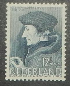 Netherlands B89. 1936 Erasmus, NH