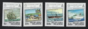 Falkland Islands  MNH sc  404-407