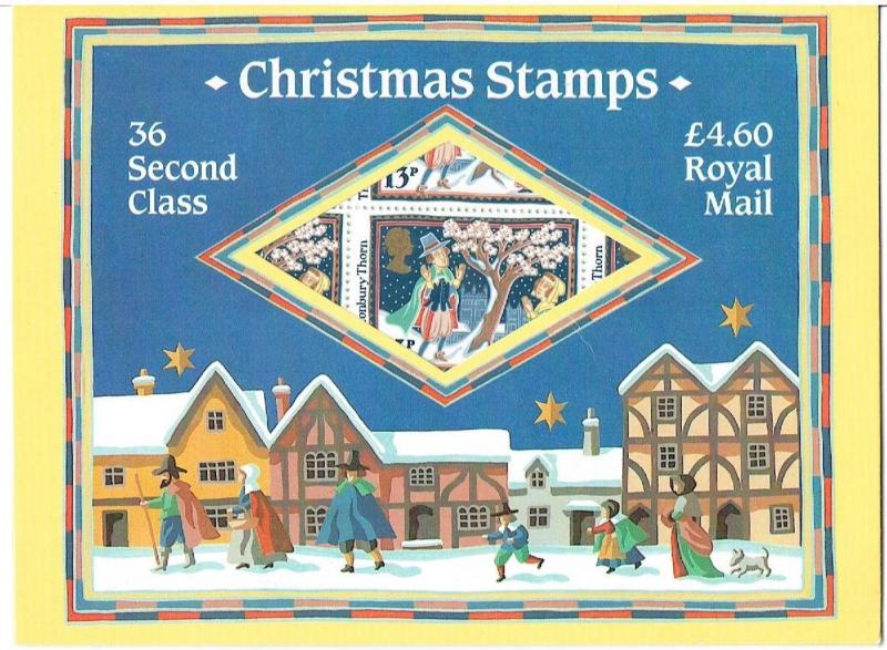 GREAT BRITAIN - 1986 - CHRISTMAS STAMPS SHEET