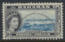 Bahamas  SG 203 SC# 160 Used   short perfs