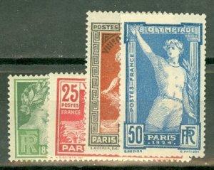 P: France 198-201 MNH CV $125