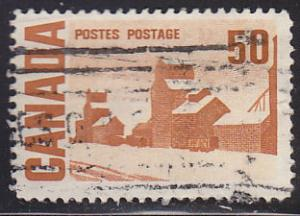 Canada 465a Hinged Used 1967 Summer's Stores