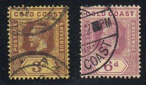 Gold Coast - 1913-15 - SC 73-74 - Used