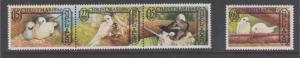 Norfolk Island 1980 Christmas Sc#273-276 MNH
