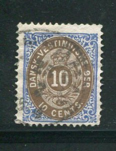 Danish West Indies #10c Used Make Me An Offer! (L)