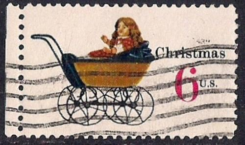 1418 6 Cent Christmas Toys Stamp Used VF