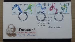 Great Britain 1991 150th Anniversary of the use of the word Dinosaur FDC
