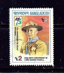 Bangladesh 210 Used 1982 Boy Scouts