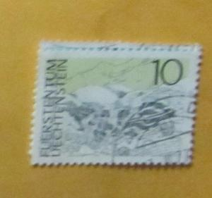 Liechtenstein - 514, Used. Lawena Springs. SCV - $0.25