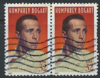 USA Used  SC# 3152 Humphrey Bogart pair  see details