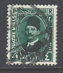 Egypt 134 used wm 195 (DT)