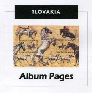 Slovakia - CD-Rom Stamp Album 1939- 2016 Color Illustrated Album Pages