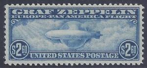 Scott # C15 Mint Graf Zeppelin NH OG VF-XF