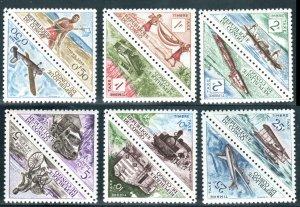 Congo, Peoples Republic  #J34-45  Mint NH CV $6.60