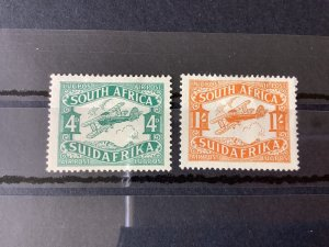 South Africa 1929 Air mounted mint stamps  Ref 57133