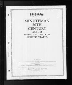 Scott Minuteman United States 20th Century Stamp Album Supplement #180PMM20