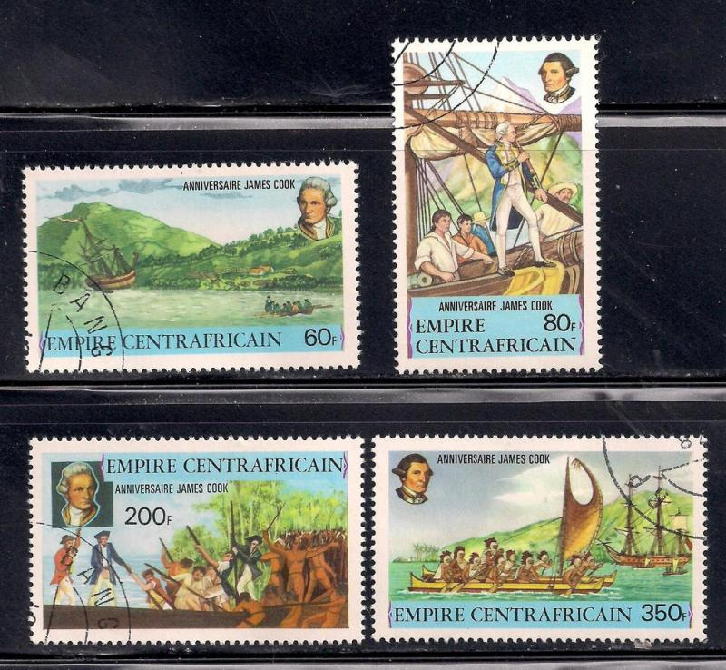 Central African Republic 1978 SC# 341-344