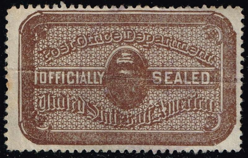 US #OX10 Post Office Seal; Used (1.50)