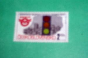 Czechoslovakia - 2854, MNH Complete. Traffic Light.SCV-$0.25