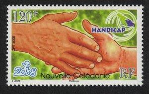 New Caledonia HANDICAP - Charter for Disabilities SG#1458 MI#1478 CV£6