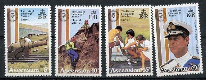 Ascension MNH 297-300 Duke Of Edinburgh's Awards