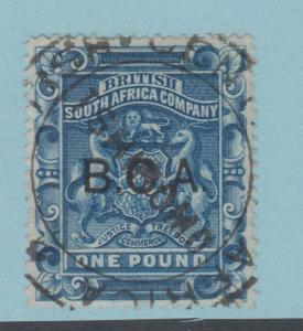BRITISH CENTRAL AFRICA 14 - NO FAULTS EXTRA FINE!