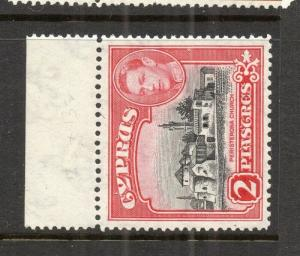 Cyprus 1938 Early Issue Fine Mint hinged Marginal 2p. 303647