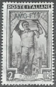 DYNAMITE Stamps: Trieste Scott #92 - UNUSED