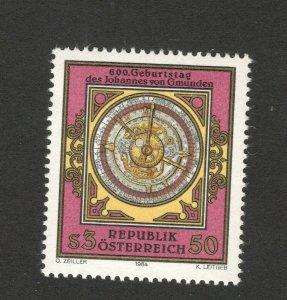 AUSTRIA-MNH STAMP-600th BIRTH ANV OF JOHANNES VON GMUNDEN-1984.