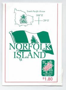 Norfolk Island booklet  MNH   sg sb7  sc 585