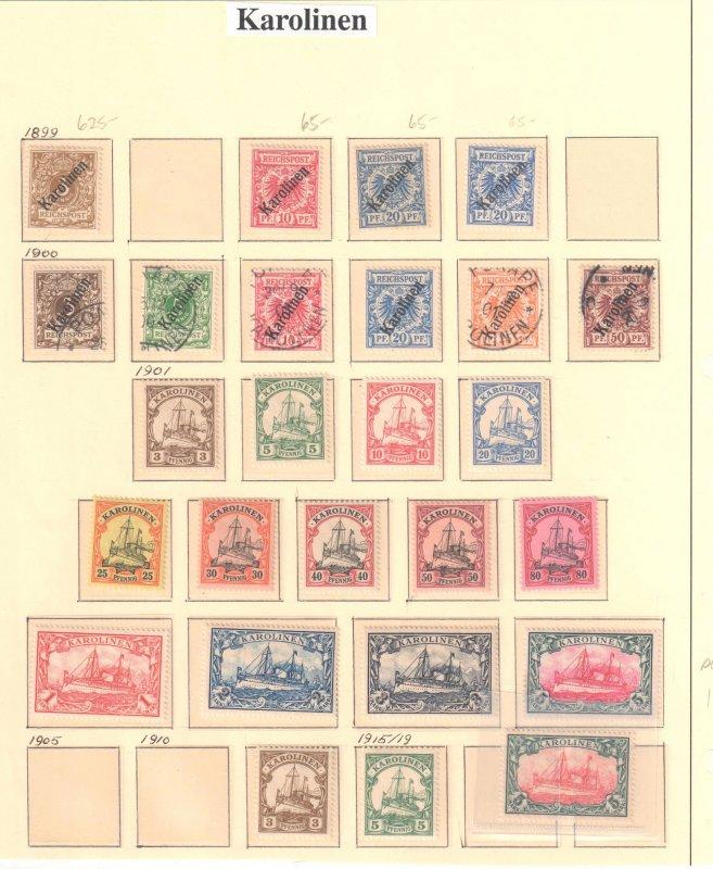 Caroline Islands Collection C$1250,00 +++