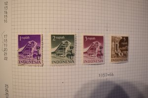 INDONESIA  RIOUW  17-20  USED/MLH