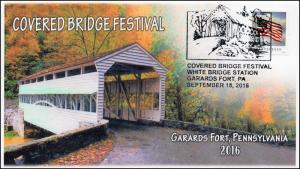 2016, Covered Bridge Festival, Garards Forts PA, BW Pictorial, 16-311