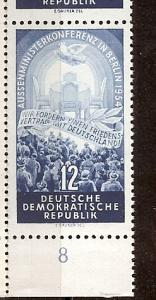 Germany (DDR), 206, Four Power Conf. Single,**MNH**