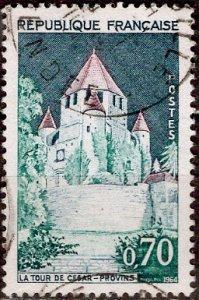 France; 1964; Sc. # 1102; O/Used Single Stamp