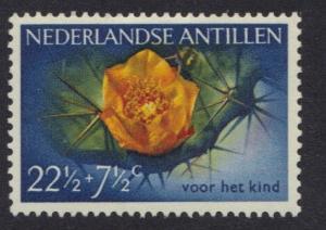 Netherlands Antilles 1955 MH flowers  22 1/2 + 7 1/2 ct   #