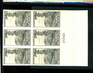 U.S. #765 MINT PL# Block VF NH Cat $45