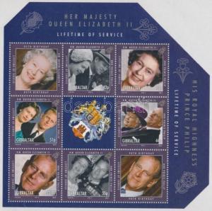 Gibraltar stamp Queen Elizabeth II minisheet MNH 2011 Mi 1414-1419 WS174849