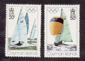 Cayman Islands Scott #377-378 MNH