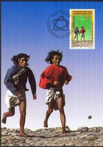 Liechtenstein 1994 Football Soccer World Cup USA - 94 Maxi Cards FDC