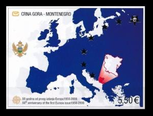 MONTENEGRO 2006 Europa CEPT Mi.Block 3 imperf. MNH LOT.003