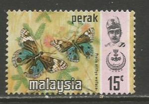 Malaya-Perak   #151b  used  (1977)  c.v. $0.50