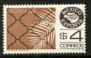 MEXICO Exporta 1119, $4P Construction Mats. Fluor Paper 8. MINT, NH. VF.
